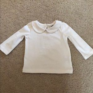 NWOT Janie and Jack Peter Pan Collar Top